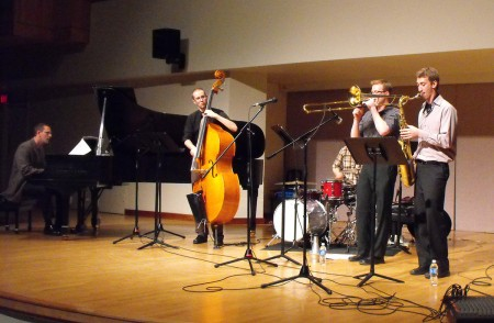 Quartet at Walter Hall, Toronto - with Tom van Seters, Mark Godfrey, Mark Segger, Gordon Hyland.